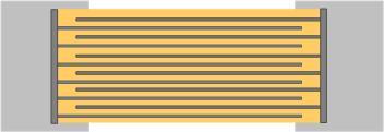 チップコンデンサ断面図